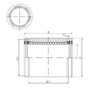 LM25UU CX Plastic Linear Bearing
