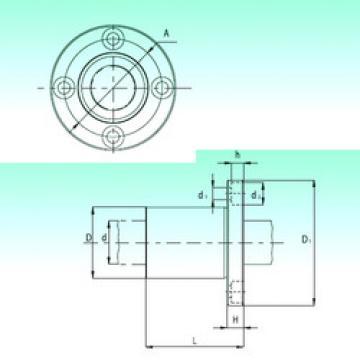 KBF08-PP  Plastic Linear Bearing