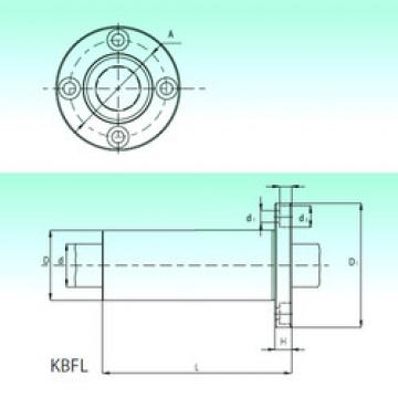 KBFL 25  Plastic Linear Bearing