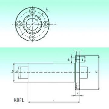 KBFL 50-PP  Linear Bearings