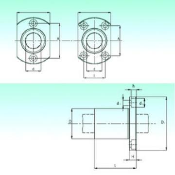 KBH 16-PP  Plastic Linear Bearing