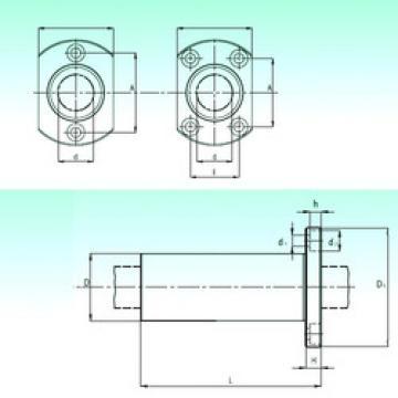 KBHL 30-PP  Plastic Linear Bearing