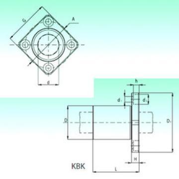 KBK 50-PP  Plastic Linear Bearing