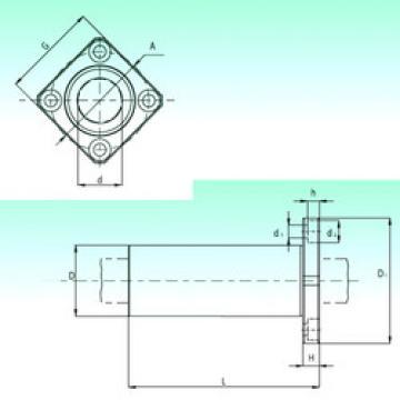 KBKL 12-PP  Plastic Linear Bearing