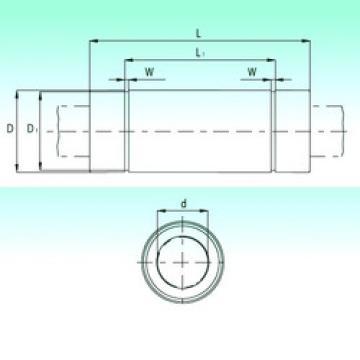 KBL25112-PP  Plastic Linear Bearing