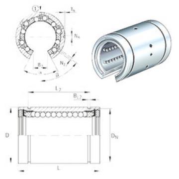KBO30 INA Plastic Linear Bearing