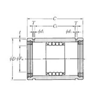 KD101930LL NTN Plastic Linear Bearing