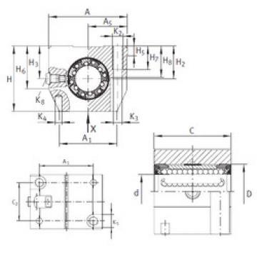 KGN 20 C-PP-AS INA Linear Bearings
