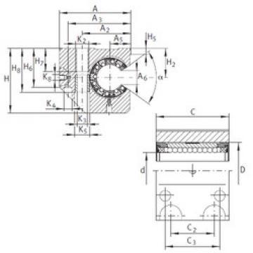 KGNC 40 C-PP-AS INA Linear Bearings