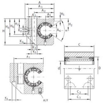 KGNCS 30 C-PP-AS INA Ball Bearings Catalogue