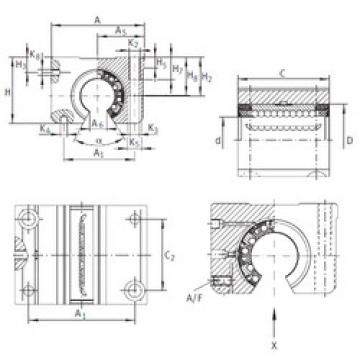 KGNOS 20 C-PP-AS INA Ball Bearings Catalogue
