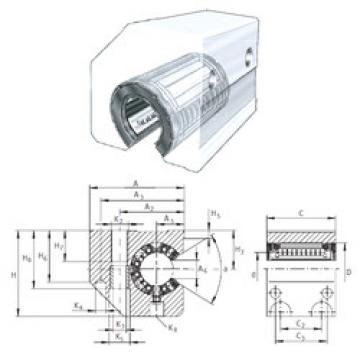 KGSC25-PP-AS INA Linear Bearings