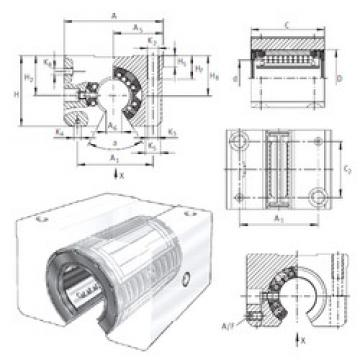 KGSNOS40-PP-AS INA Ball Bearings Catalogue