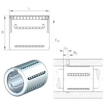 KH25 INA Linear Bearings