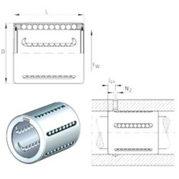 KH06-PP INA Plastic Linear Bearing