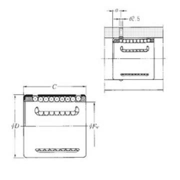 KH5070 NTN Plastic Linear Bearing