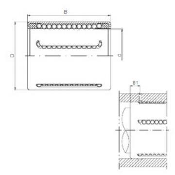 KH1428PP CX Plastic Linear Bearing