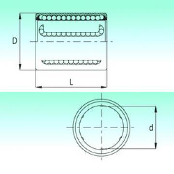 KH1630-PP  Plastic Linear Bearing