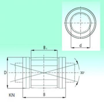 KN1636  Plastic Linear Bearing