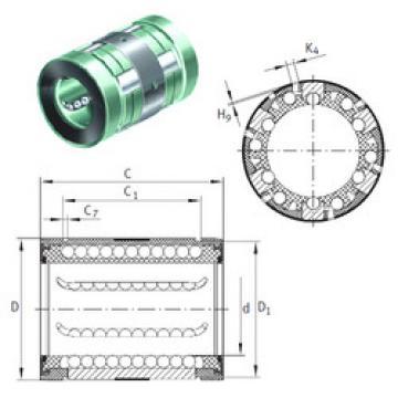 KN16-B INA Plastic Linear Bearing
