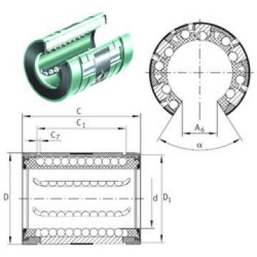 KNO 16 B-PP INA Linear Bearings