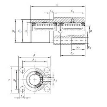 KTFN 12 C-PP-AS INA Ball Bearings Catalogue