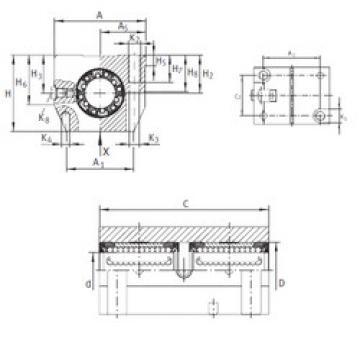 KTN 30 C-PP-AS INA Ball Bearings Catalogue
