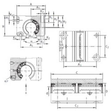 KTNOS 12 C-PP-AS INA Bearings Disassembly Support