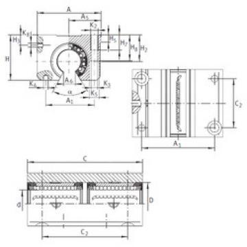 KTNO 25 C-PP-AS INA Ball Bearings Catalogue