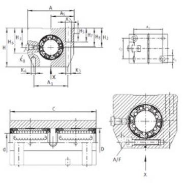 KTNS 12 C-PP-AS INA Ball Bearings Catalogue