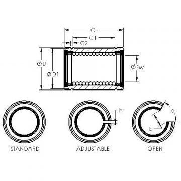 LBE 40 UU AST Plastic Linear Bearing