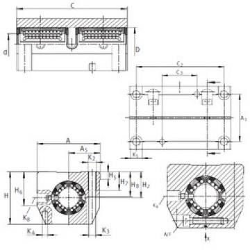 KTSS25-PP-AS INA Bearings Disassembly Support