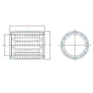 LBBR 20/HV6 SKF Plastic Linear Bearing