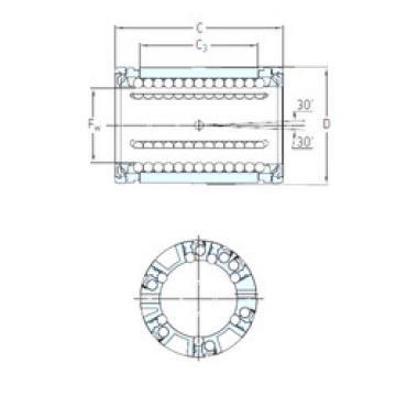 LBCD 25 A SKF Linear Bearings