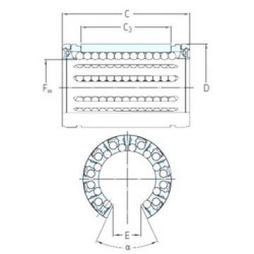 LBHT 50 A-2LS SKF Plastic Linear Bearing