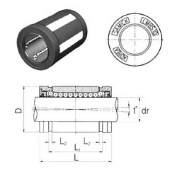 LMBS8UU Samick Plastic Linear Bearing