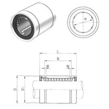 LME60UU Samick Plastic Linear Bearing