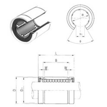 LME30UUOP Samick Plastic Linear Bearing
