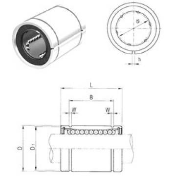 LME16AJ Samick Plastic Linear Bearing