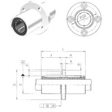 LMEFM25 Samick Plastic Linear Bearing