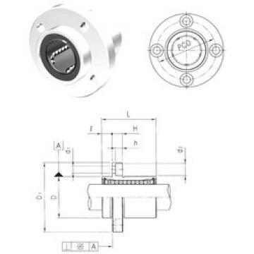 LMEFP25UU Samick Ball Bearings Catalogue