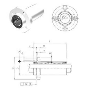 LMEFP60LUU Samick Plastic Linear Bearing