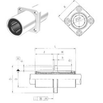 LMEKM50 Samick Plastic Linear Bearing