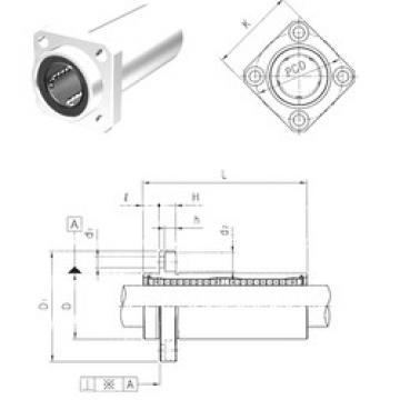 LMEKP50LUU Samick Plastic Linear Bearing