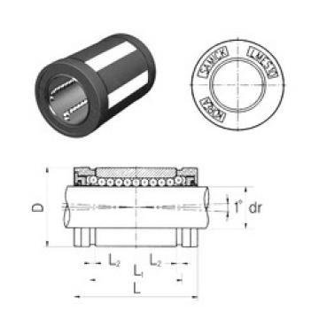LMES25 Samick Plastic Linear Bearing