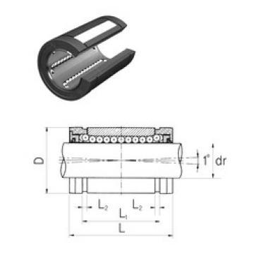 LMES50UUOP Samick Linear Bearings