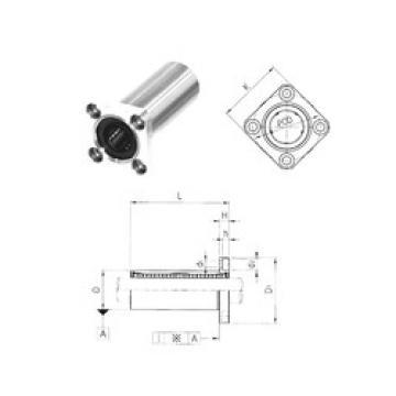 LMK40LUU Samick Plastic Linear Bearing
