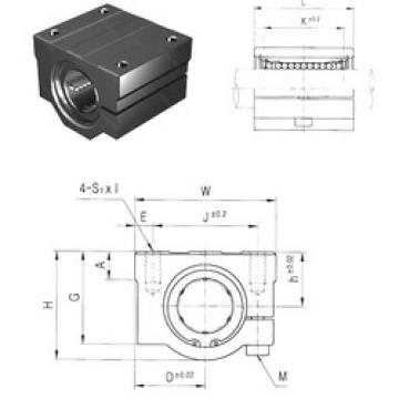 SCJ35UU Samick Plastic Linear Bearing
