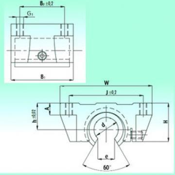 TBR 20-UU  Plastic Linear Bearing