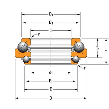 N-3488-A Thrust Ball Bearing